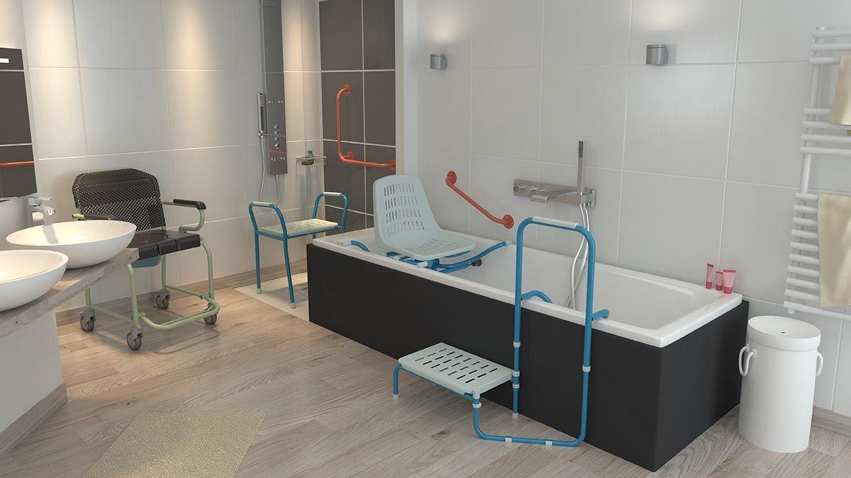 """Résultat de recherche d'images pour """"accessoires salle de bain médicalisée"""""""