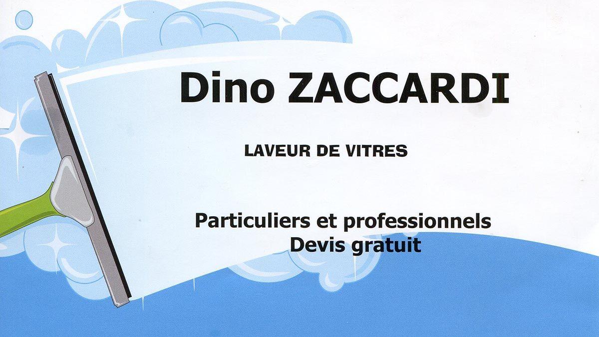 Dino Zaccardi Laveur de vitres